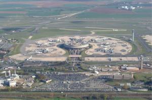 aéroport de Charles de Gaulle