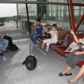 rencontre américain aéroport de Pekin