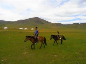 Randonnée à Cheval en Mongolie