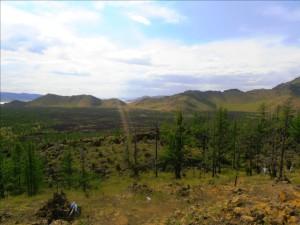 volcan de Khorgo (ou Horgo) - paysage