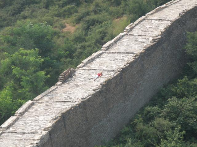 Visite de la grande muraille