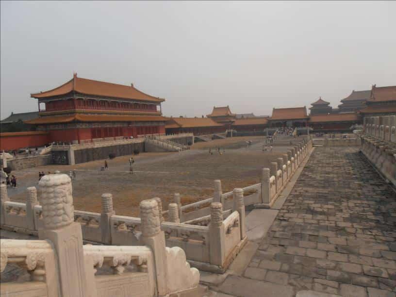 Visite de la cité interdite et de la place place tiananmen
