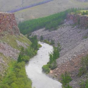 canyon en Mongolie