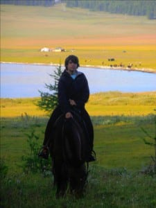 Cowboy Mongolie